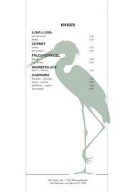 Lorrainebad Buvette Karte 2019 Eisiges