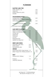 Lorrainebad Buvette Karte 2019 Flüssiges